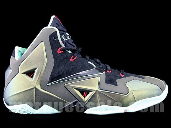 Nike LeBron XI Armory Slate Detailed Look