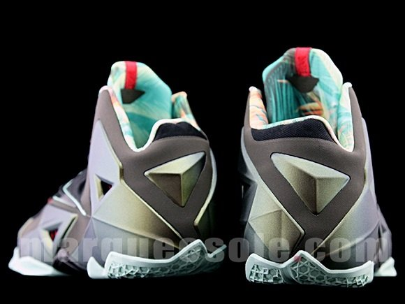 Nike LeBron XI Armory Slate Detailed Look