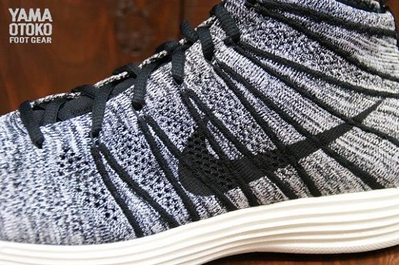 Nike Lunar Flyknit Chukka Black White Sail First Look
