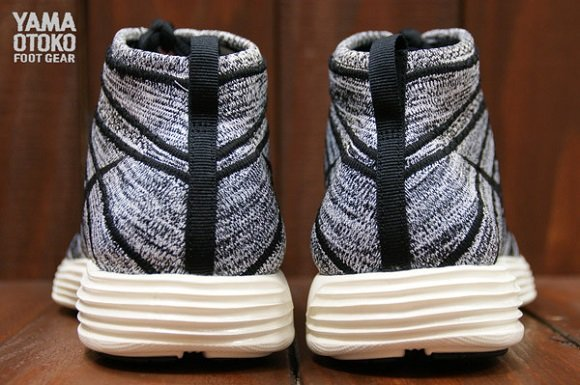 Nike Lunar Flyknit Chukka Black White Sail First Look