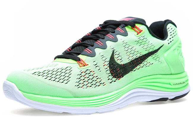 new style ca759 54429 nike-lunarglide-5-flash-lime-2