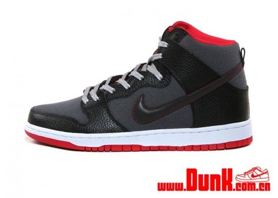 nike-sb-dunk-high-black-red-grey-rip-stop-1