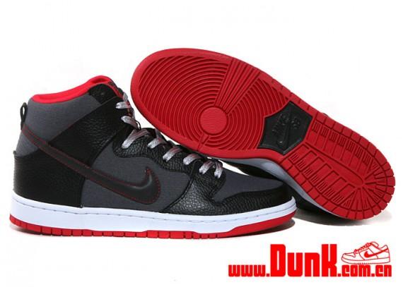 nike-sb-dunk-high-black-red-grey-rip-stop-2