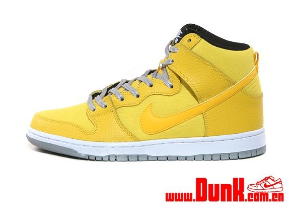Nike SB Dunk High Tour Yellow Another Look