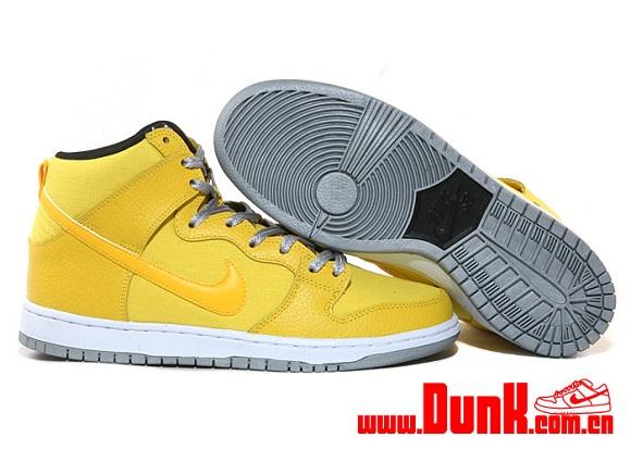 Nike SB Dunk High Tour Yellow Another Look