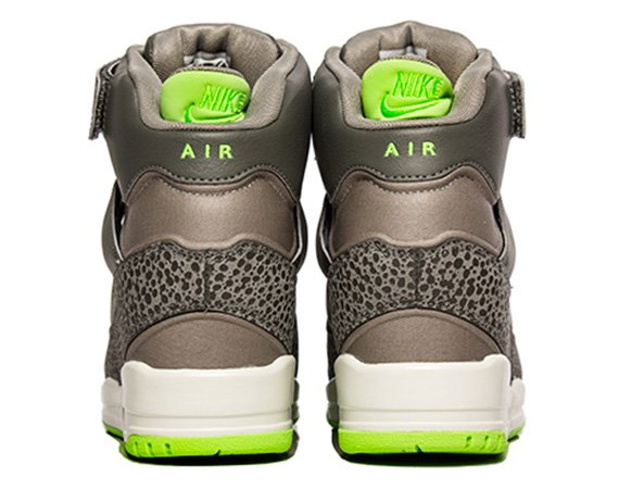 Nike WMNS Air Revolution Sky Hi Grey  Neon Safari Now Available