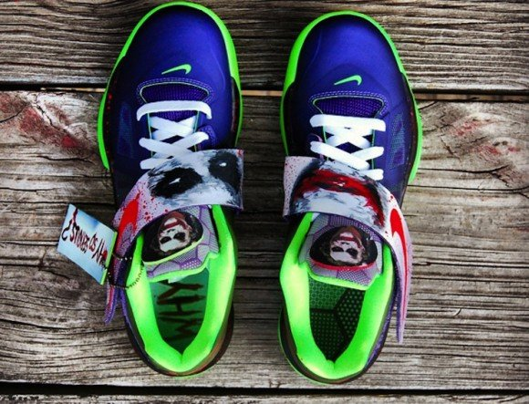 Nike Zoom KD IV Joker Custom by Gourmet Kickz