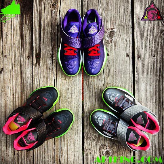 Nike Zoom KD IV KDeezy Customs by Gourmet Kickz