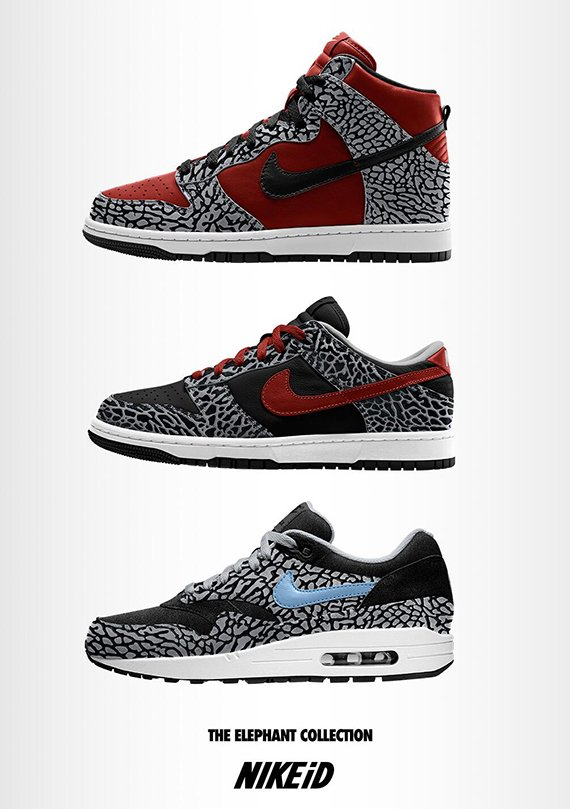 NIKEiD Elephant Collection Coming Soon