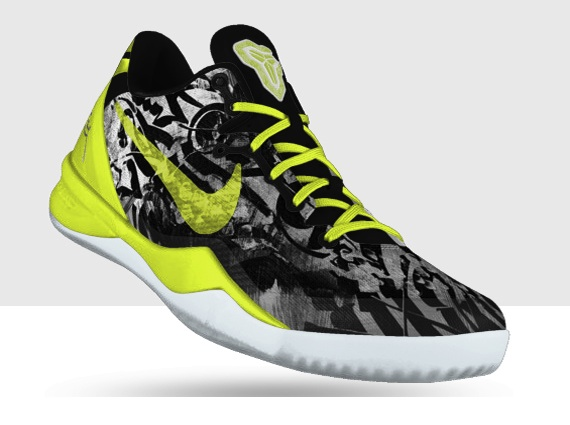NIKEiD Kobe 8 Graffiti Options