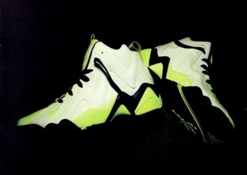 Reebok Kamikaze II Mid  Glow In The Dark   dd0857629