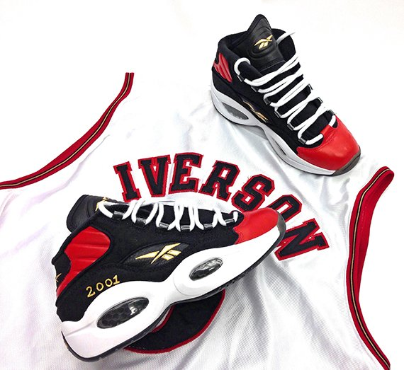 Reebok Question Mid MVP Customs by Sole Swap