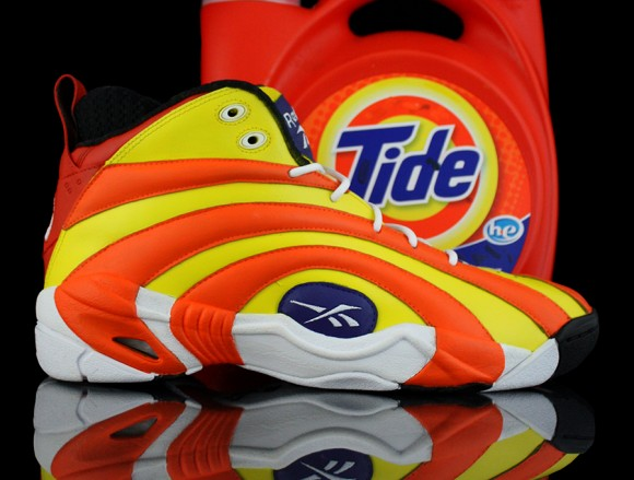Reebok Shaqnosis Tide Product Placement by Revive Customs