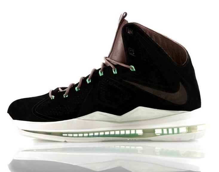 Release Reminder  Nike LeBron X EXT QS  Black Suede   a111490ce