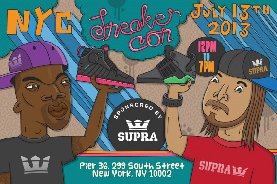 Sneaker Con NYC July 2013 Event Update
