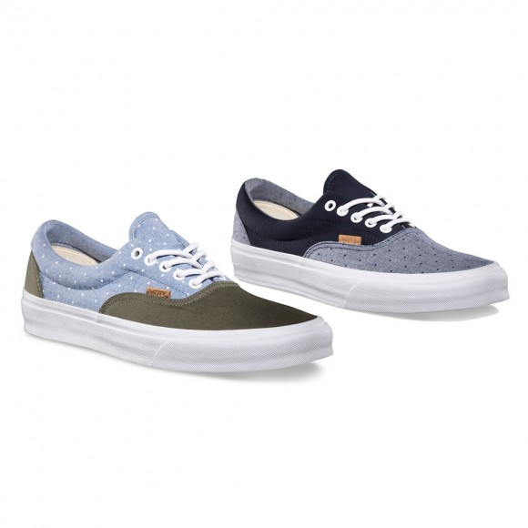 Vans California Collection Fall 2013 Chambray Polka Pack