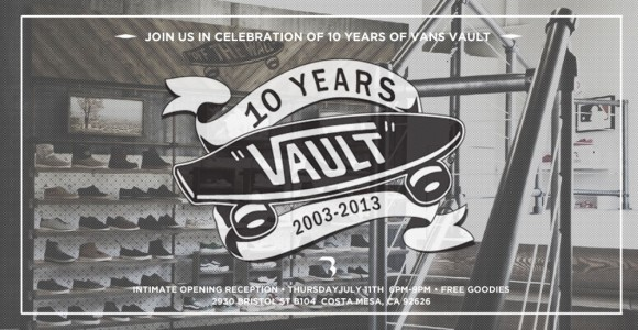 Vault by Vans 10 Year Anniversary Exhibition Opening Reception at BLENDS