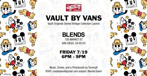 Vault by Vans x Disney Collection Launch Party at BLENDS San Diego