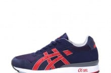 Asics GT-II (Navy/Fiery Red) – New Release