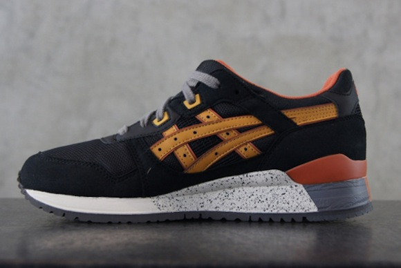 Asics Gel Lyte III Black Tan New Release
