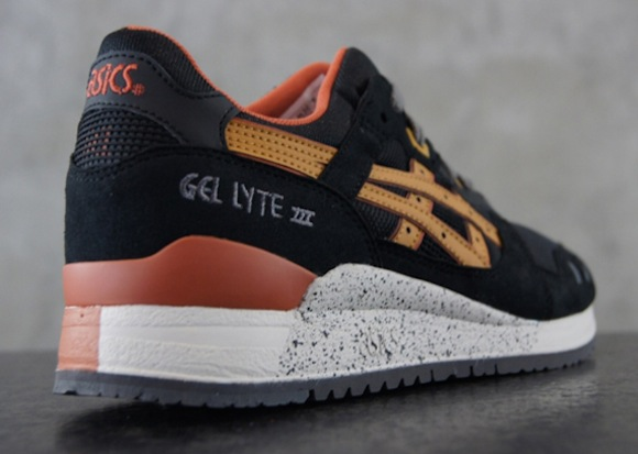 Asics Gel Lyte III (Black/Tan) - New