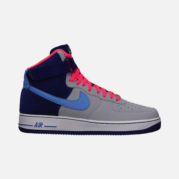 Nike Air Force 1 Hi 07 Wolf Grey Deep Royal Blue Now Available