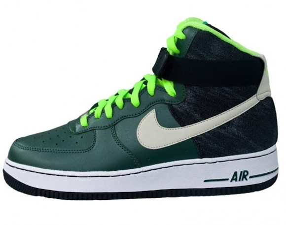 separation shoes 650b6 47f22 Nike Air Force 1 High 07 Vintage Green Available Now