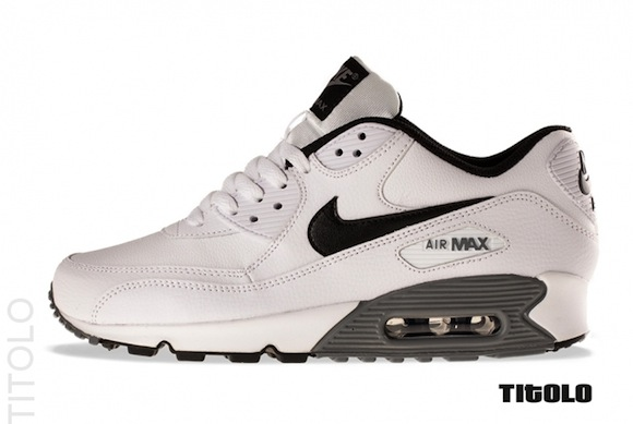 Nike Air Max 90 Essential LTR White Black New Release