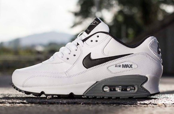 Nike Air Max 90 Essential LTR (White/Black) - New Release