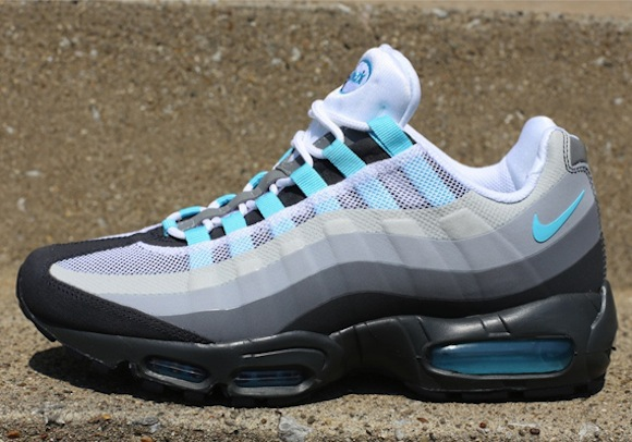 Nike Air Max 95 NS Tide Pool Blue Wolf Grey New Release