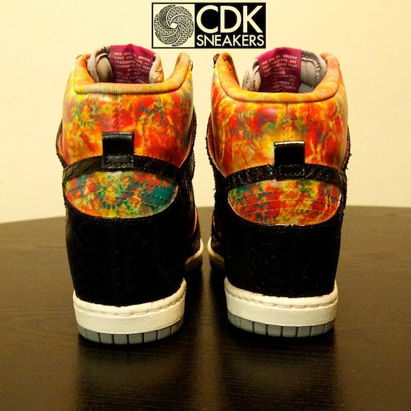 Nike Dunk Sky Hi Mamba in the Garden by CDKsneakers
