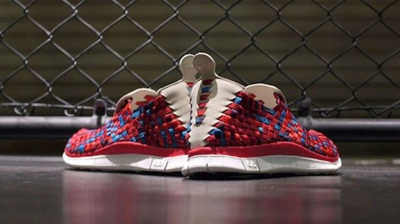 Nike Free Woven 4 0 Carmine Daring Red Now Available