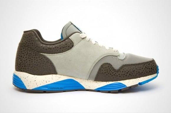 Nike Lunar Terra Safari Gray Blue New Release