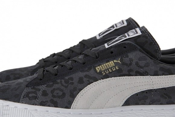 wholesale dealer ee283 9d4bd Puma Suede Animal Pack Dark Shadow Available Now