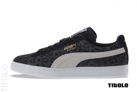 Puma Suede Animal Pack Dark Shadow Available Now