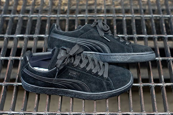 Puma Suede Blackout