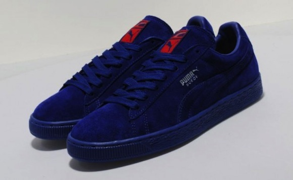Puma Suede Blue Red Now Available