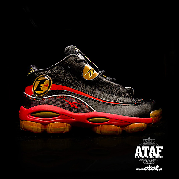 a96607295b0 Reebok Answer DMX 10 Black Red Gold - Now Available