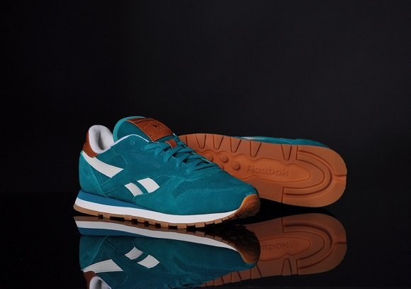 Reebok Classic Leather Teal Gem – First Look
