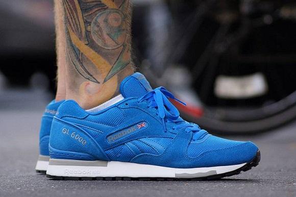 Reebok GL6000 Blue/Cement – First Look