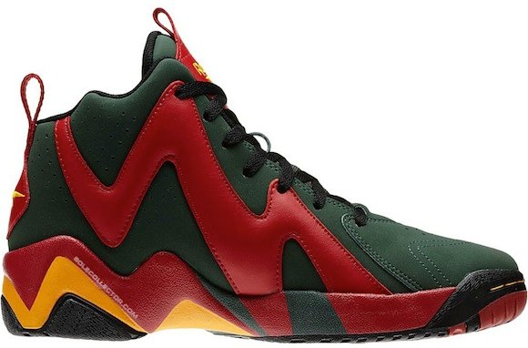 Reebok Kamikaze II 95 96 Sonics Now Available