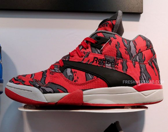 Stash Reebok Pump Camo