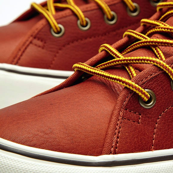 Vans California Leather Sk8 Hi Binding Available Now