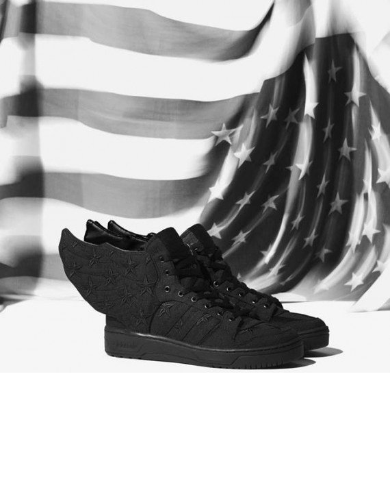 A$AP Rocky x adidas Originals Jeremy Scott Wings 2.0 Black Flag
