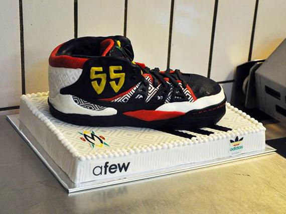 adidas Mutombo Sneaker Cake by Afew