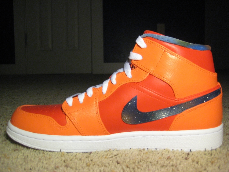 Air Jordan 1 Mid Big Bang Custom Sneakerfiles