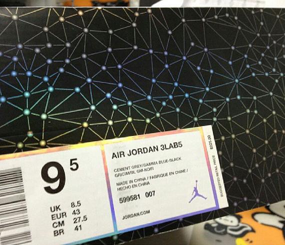 Air Jordan 3Lab5 Retail Price