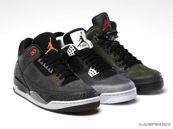 Air Jordan Fear Pack Official Image