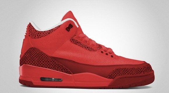Air Jordan III 3 Red October New Image