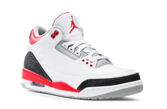 Air Jordan III Fire Red Release Reminder